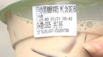 害女童癲癇 迷客夏道歉 黑糖鮮奶含茶急標示