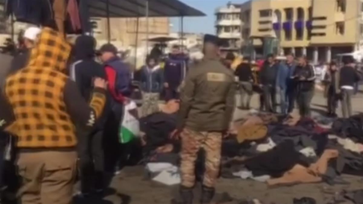 巴格達連環炸彈攻擊 至少28死73傷