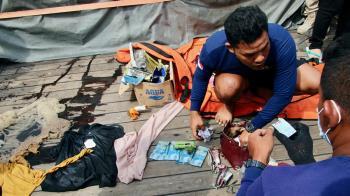 印尼失事航班搜救結束 確認43名罹難者身分