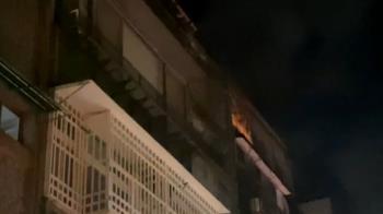大安區公寓清晨火警!疑床鋪起火 一家7口驚醒逃生