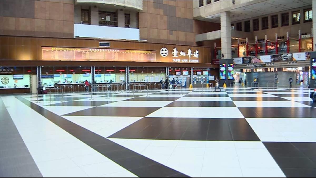 快訊/北車宣布大廳禁群聚、飲食 美食街設隔板