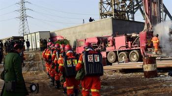 中國大陸山東棲霞金礦爆炸 受困工人:「想吃鹹菜、火腿腸」