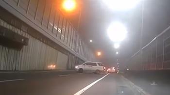 開租賃車拒檢逆向逃 警倒車鳴笛追駕駛跑了
