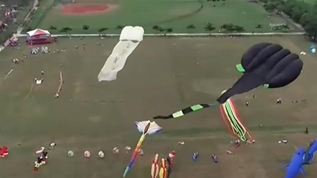 置他人生死於度外 屏東河濱公園飛行傘亂飛危害民眾