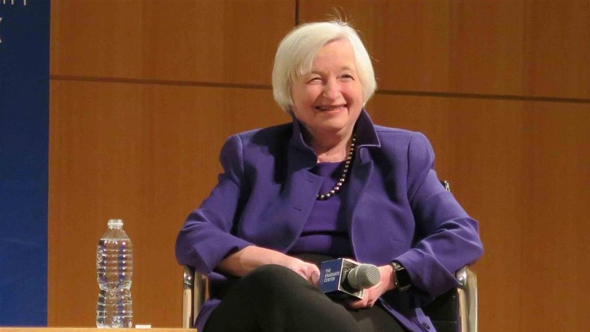 曾誓言施壓陸 葉倫成美國首位女財長