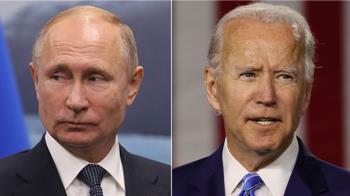拜登與普丁首次通話 對俄干預美國選舉發出警告