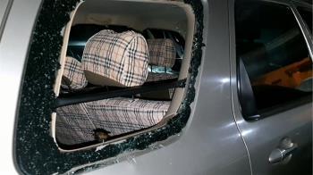 砸車窗偷內裝! 20歲男狂砸三車 竊物上萬元