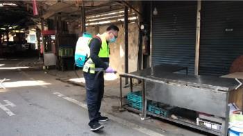 確診者曾赴北部某市場小吃店 攤商急關店消毒