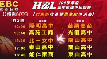 HBL》男、女子組八強準決賽點燃戰火 精彩賽事在東森超視