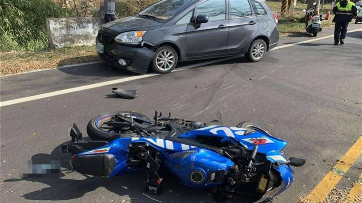 139死亡彎道逆撞!23歲男載16歲女友自摔 驚悚畫面曝