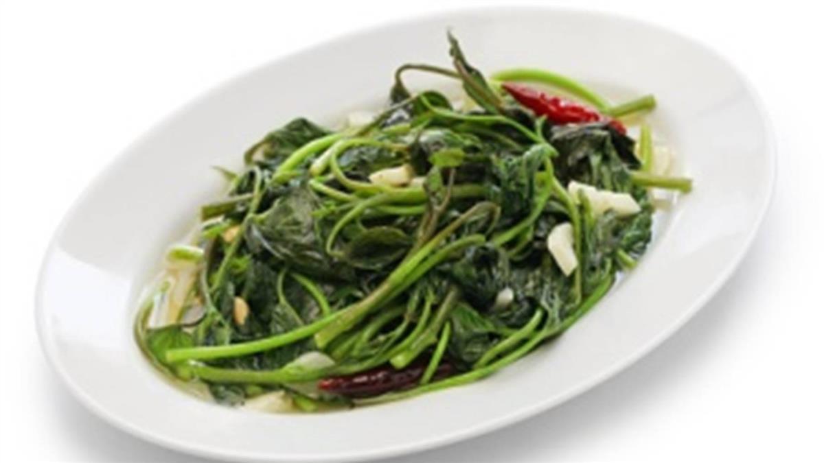 不怕炒出「發黑地瓜葉」 下鍋前1關鍵保持脆嫩鮮綠