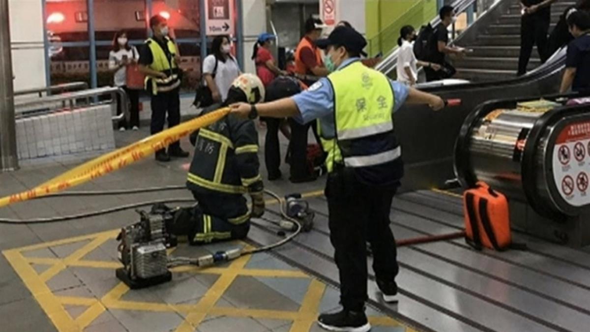 北捷去年旅客受傷337件 電扶梯意外占一半以上