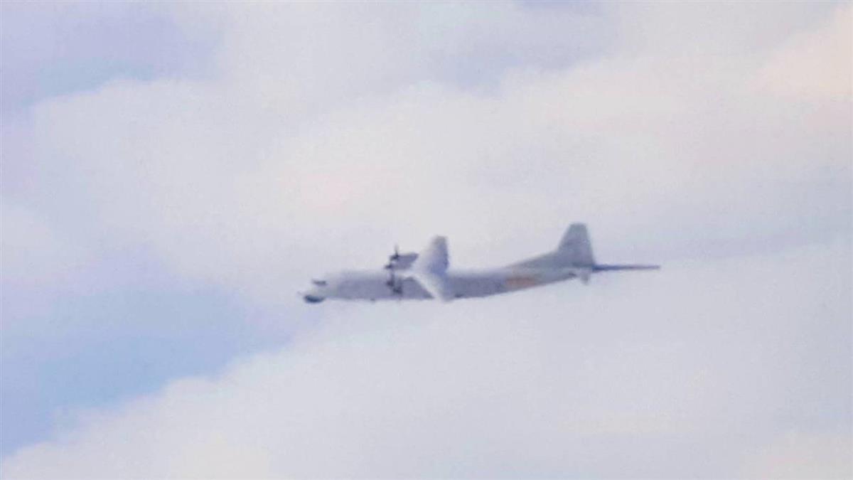 1共機擾台ADIZ 3架美軍機現蹤周邊空域