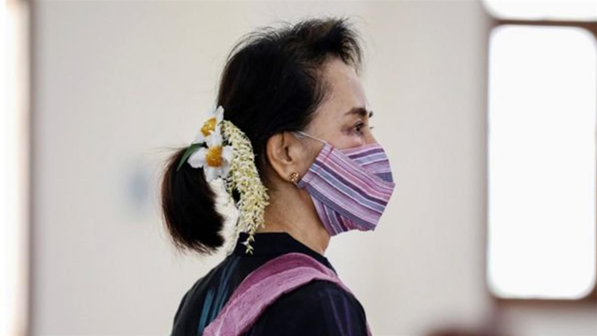 緬甸軍方發動政變扣留翁山蘇姬 一年內重新選舉