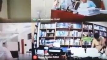 律師視訊開庭「桌上激戰裸女」 忘關鏡頭全程直播看光