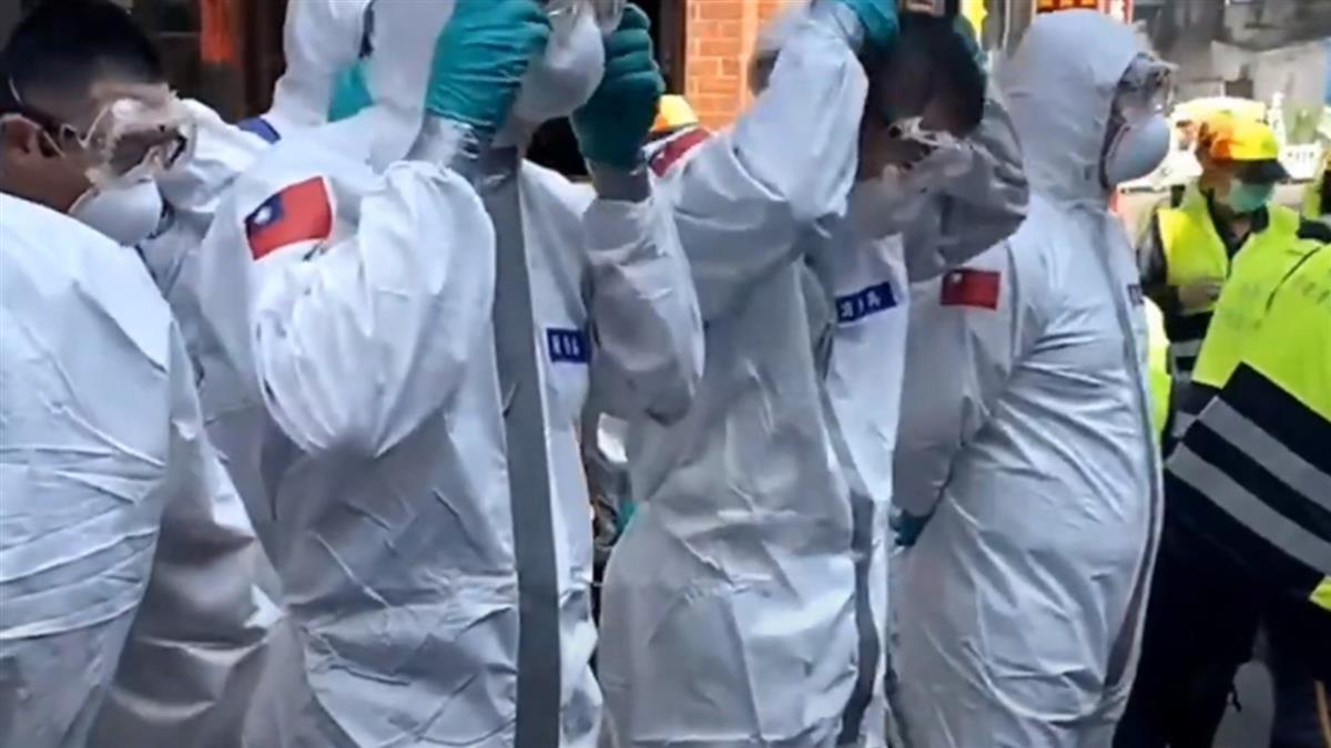 案908足跡到過大溪老街 33化學兵群出動大規模消毒