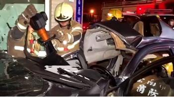 台江大道車禍釀六死 相驗死因頸椎斷裂、氣血胸