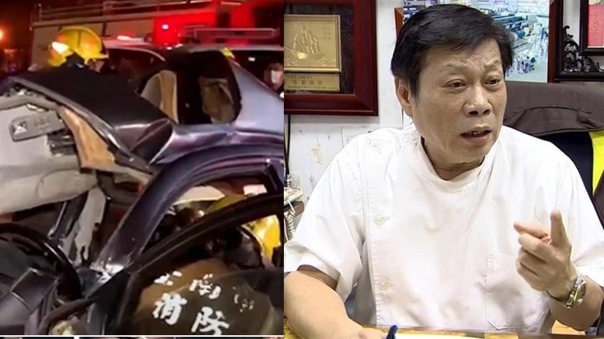 台南車禍6人「頸椎斷裂」慘死 高大成曝奪命瞬間:不用5分鐘