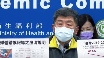 台灣有新冠肺炎死者遭漏列?陳時中:錯誤訊息