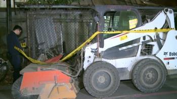 汐止凌晨工安意外!53歲工人遭鏟裝機重輾 送醫不治