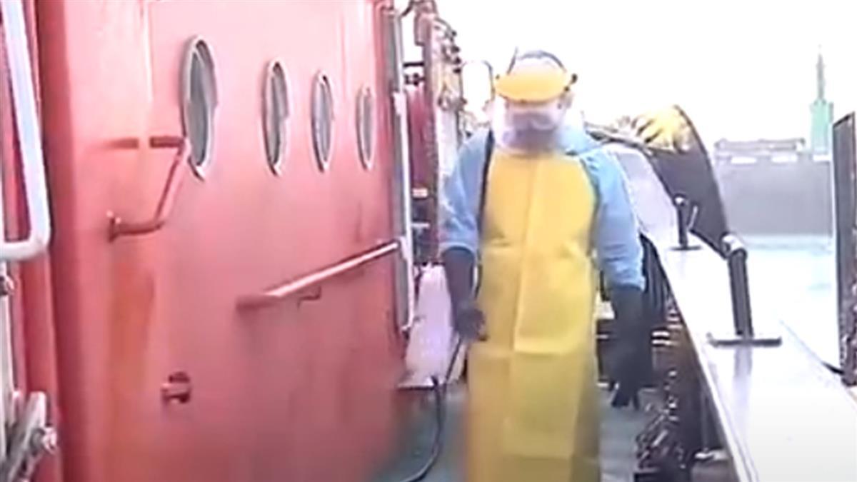 台中港爆印尼船員確診 港區已加強全面消毒