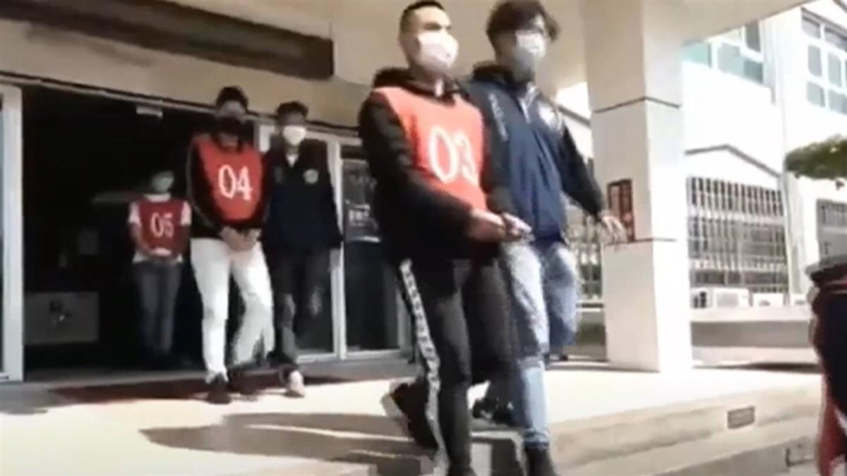 掃黑!主嫌自稱竹聯幫仁堂「組長」 涉多起刑案遭收押禁見