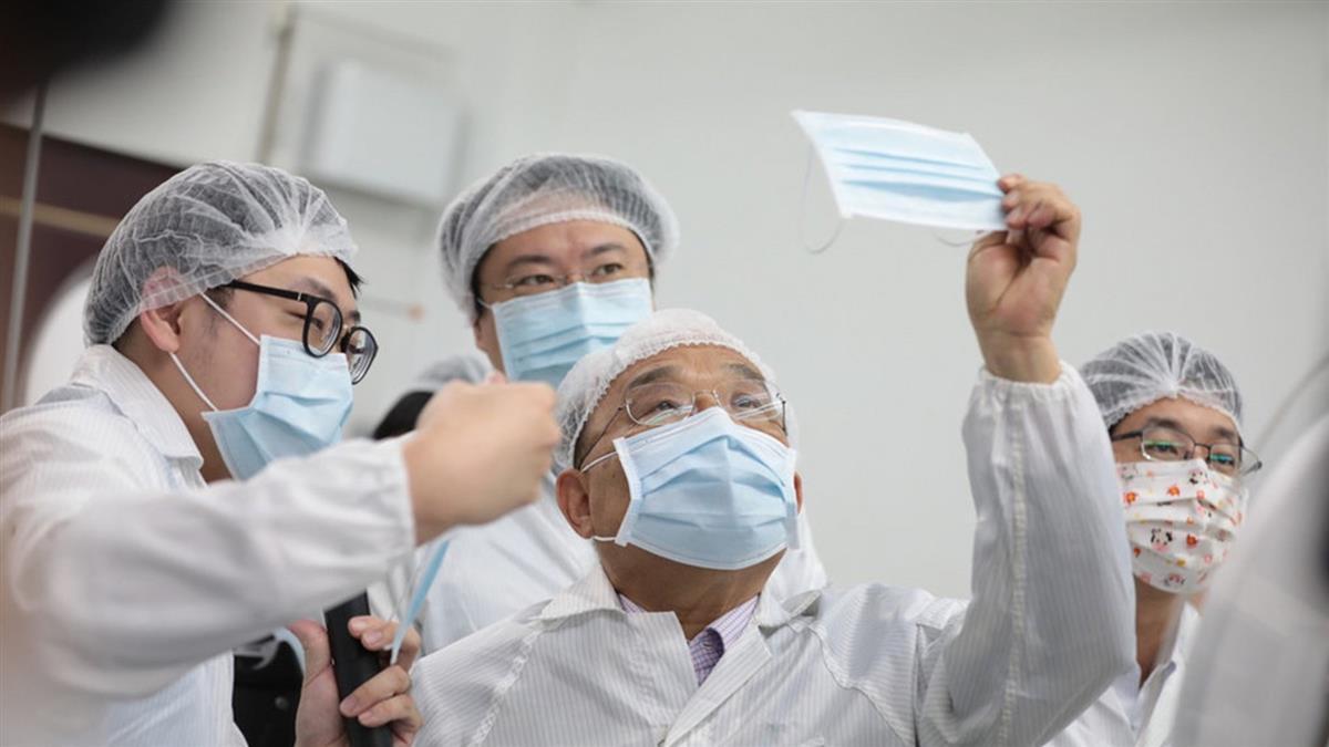 口罩實名制週年 蘇貞昌:台灣防疫第一堅持下去