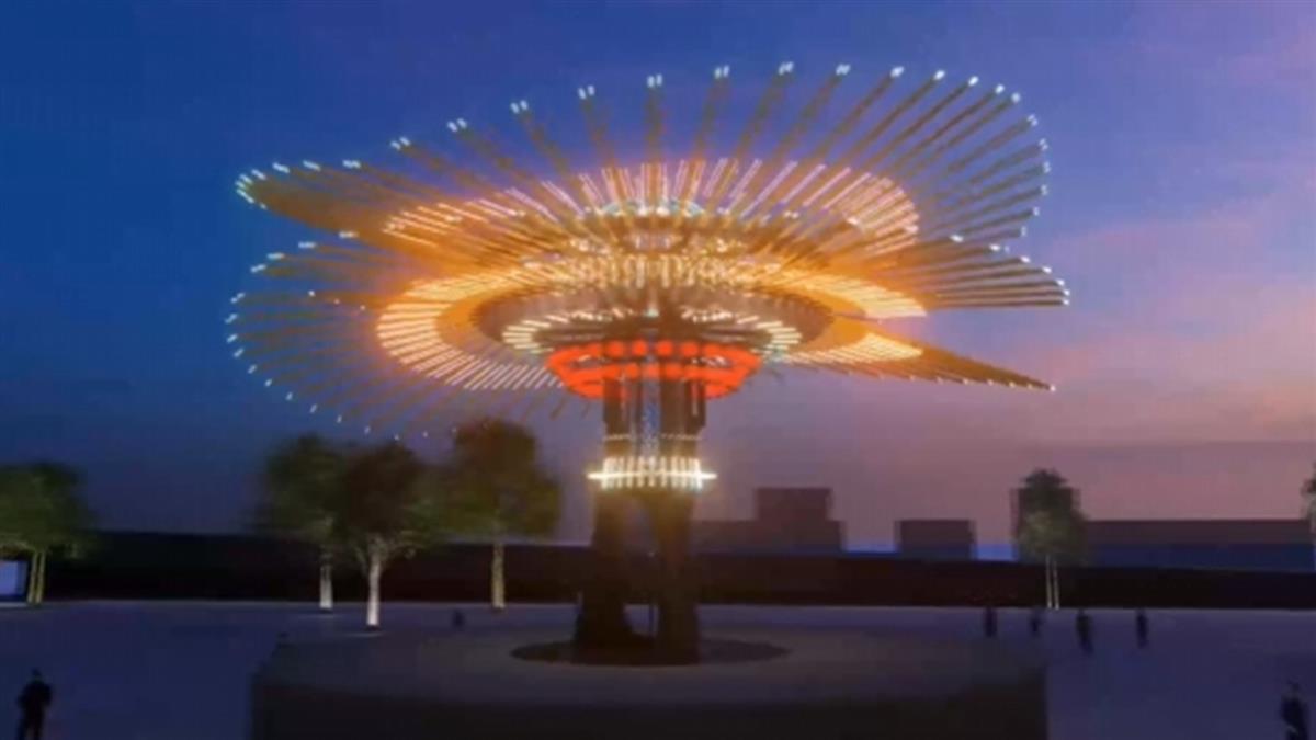 台灣燈會喊卡!1700萬主燈「乘風逐光」落腳新竹高鐵站