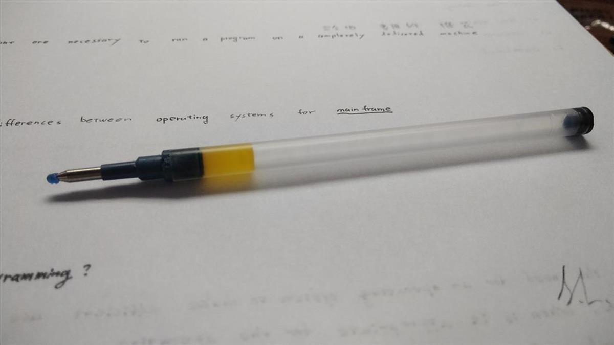 原子筆筆芯驚見「黃色果凍」 網揭驚人功用