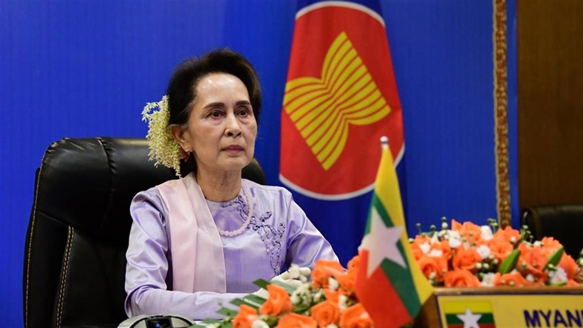 緬甸抗議升溫 警方突襲翁山蘇姬政黨總部