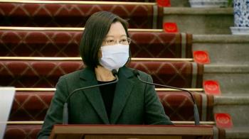 主持國安高層會議 蔡英文:兩岸和平關鍵鑰匙在中國