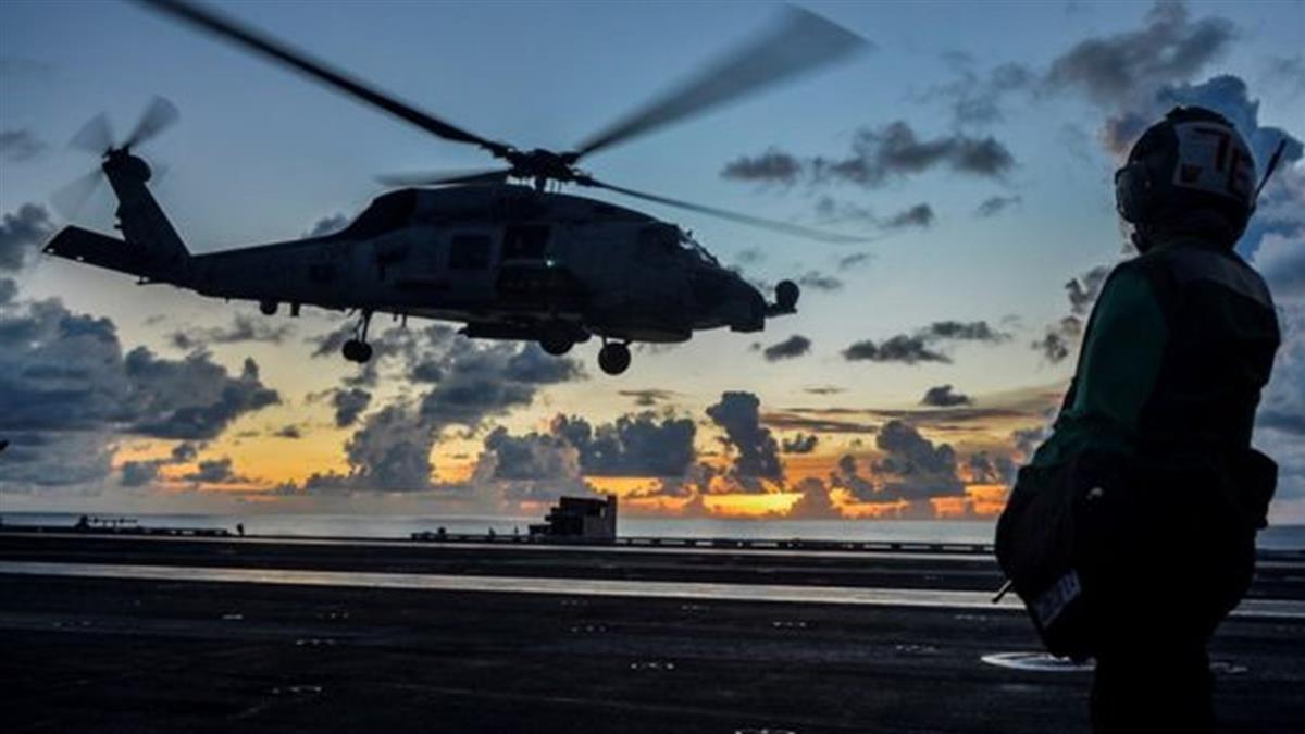 南海局勢:拜登上台後美國首次雙航母演習 北京批評「炫耀武力」