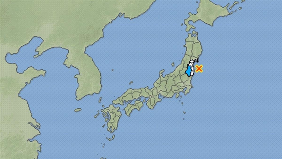 快訊/日本福島15:31又地震!規模5.2猛搖 關東地區也有感