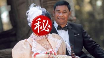 52歲高僧還俗秒訂婚!小33歲女神嫩妻照曝 網全看傻眼