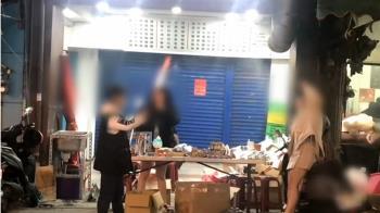 獨/違規擺攤放爆竹嚇壞民眾 新竹警依法開罰