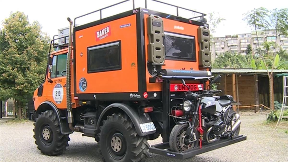 獨/超級越野車「公路坦克」 性能超強能拖動火車頭