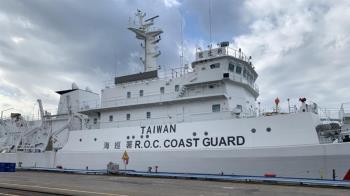 總統府:總統指示海巡艦艇塗裝增TAIWAN