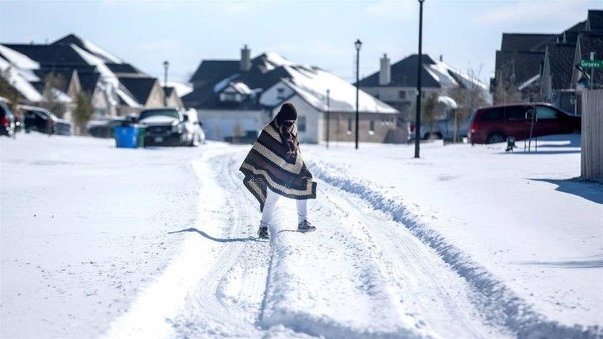 極寒天氣橫掃美國南部,德州數百萬人遭遇大停電
