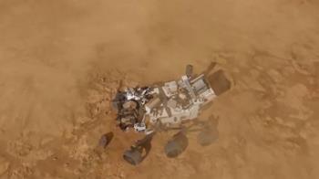 NASA毅力號航行7個月登陸火星 闖過驚險11分半鐘回傳照片