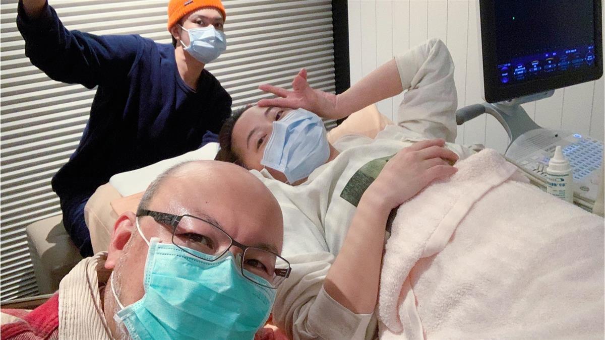 快訊/趙小僑終於懷孕了 曾經歷2次試管嬰兒失敗