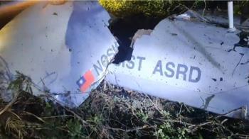 騰雲無人機訓練過程系統異常 迫降墜毀台東