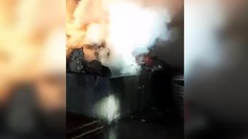 快訊/屏東里港工業區驚傳火警 警消出動前往灌救