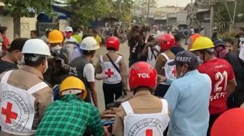 緬甸瓦城反政變示威 警開槍釀至少2死20傷