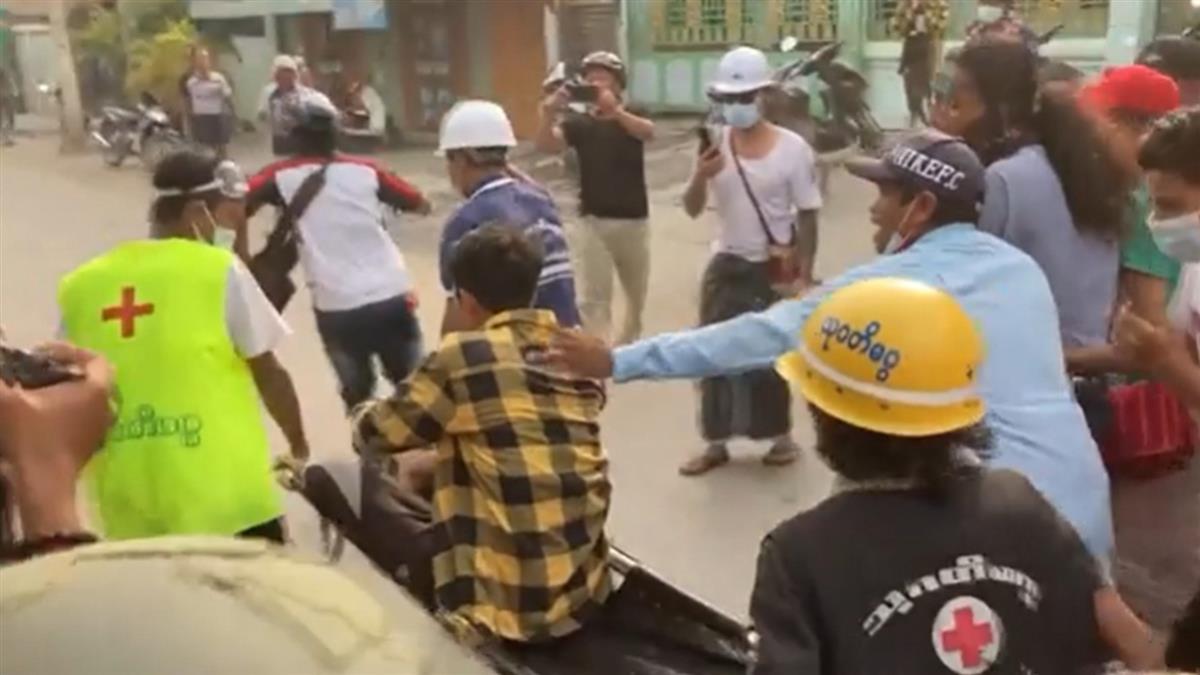 緬甸軍政變!瓦城驚傳槍響2死 目擊者:軍警無差別濫射平民