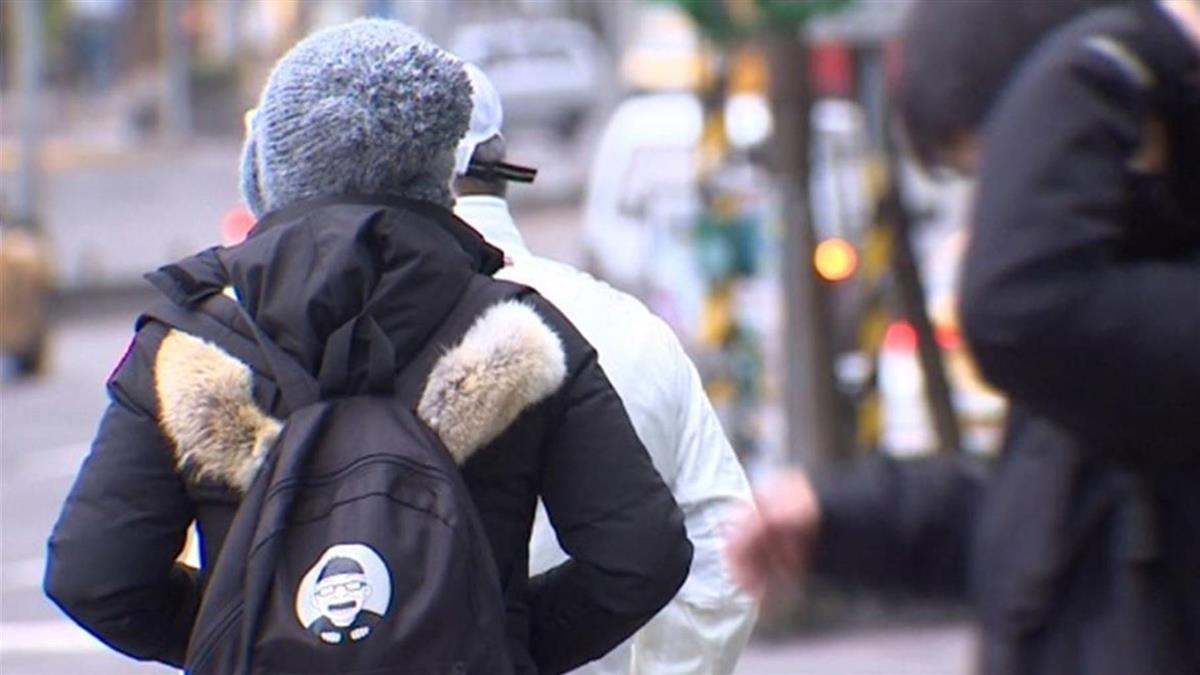 周二東北季風增強 北台灣氣溫下滑2-3度
