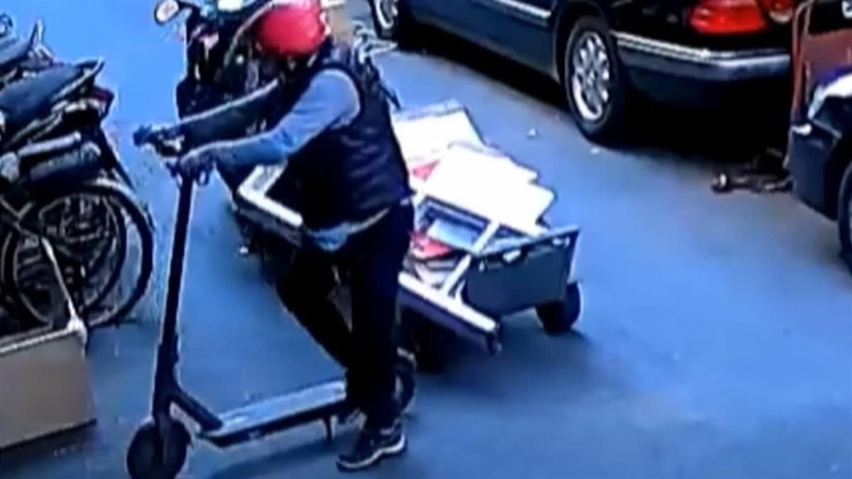 電動滑板車停門口遭竊 婦辯「不知有人的撿走」
