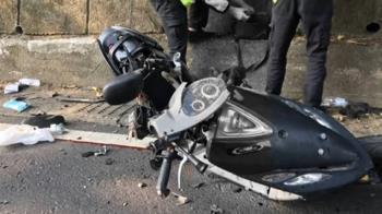 北宜死亡車禍!黃牌重機、機車碰撞 釀1死1重傷