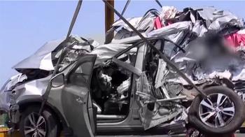 西濱21車「3波追撞」2死8傷 2次車禍車主難逃肇責