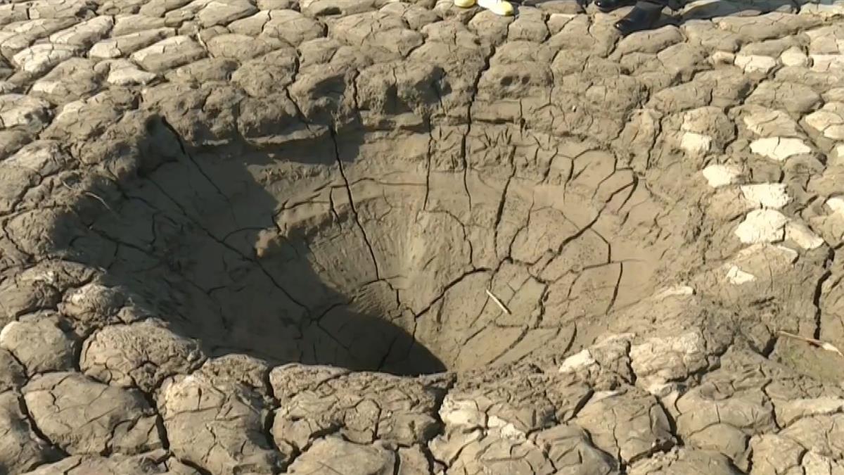 曾文水庫底驚見「大型蟲洞」!直徑最大2公尺 來歷曝光