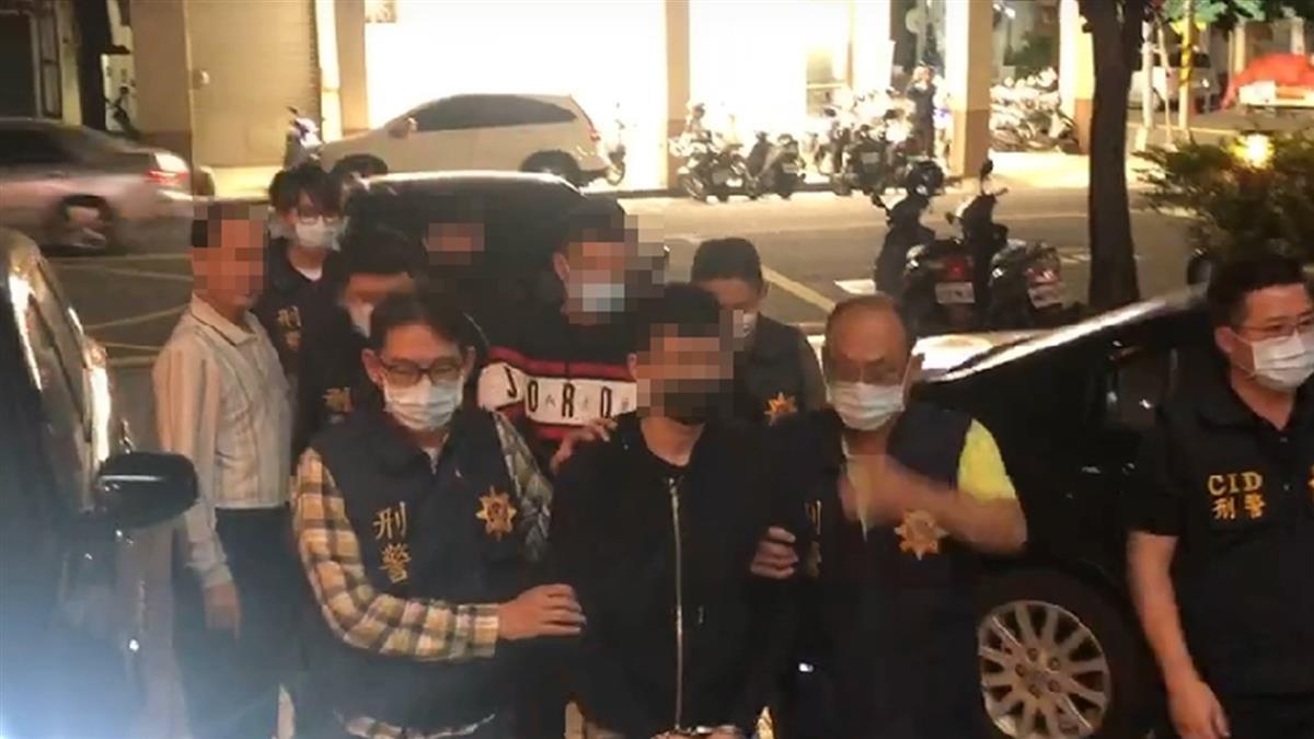 快訊/含羞草「超艾夾」高雄遭砍2刀 4嫌全數被逮了